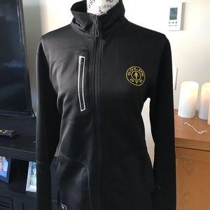 Golds gym zip up jacket